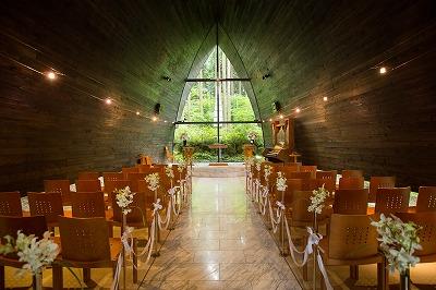 【7~9月結婚式限定】チャペル建立15周年記念プラン