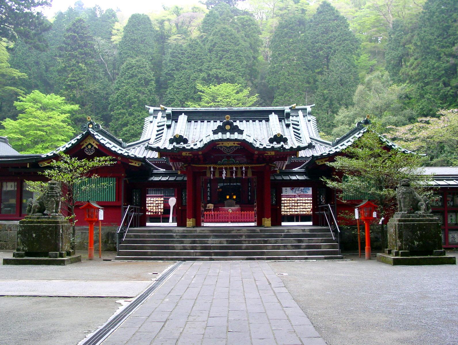 箱根神社プラン
