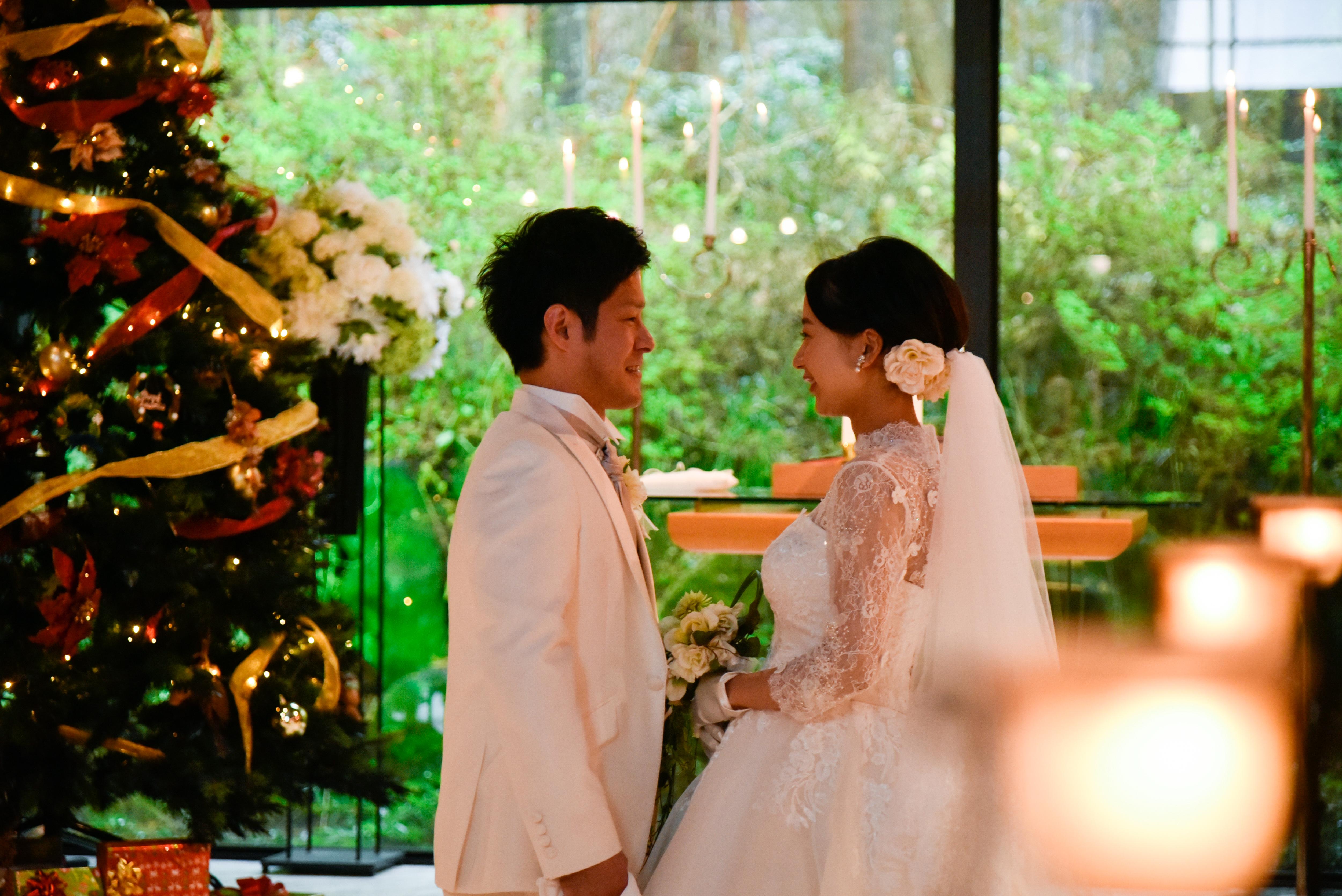 12月~3月限定☆Winter Wedding Plan(トワイライトウェディング付き!)